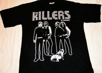 Killers: Tour Shirt 2007 [Black-Adult Small-2 Sided] Made In Canada