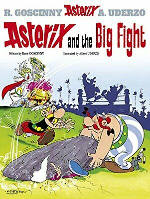 Asterix and the Big Fight by Uderzo, Albert Paperback Book The Cheap Fast Free