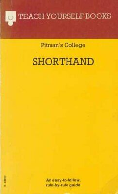 Shorthand (Pitmans) by Pitmans College Hardback Book The Cheap Fast Free Post
