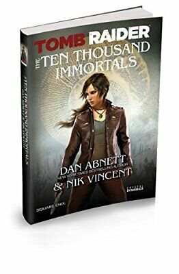 Tomb Raider The Ten Thousand Immortals by Abnett, Dan Book The Cheap Fast Free