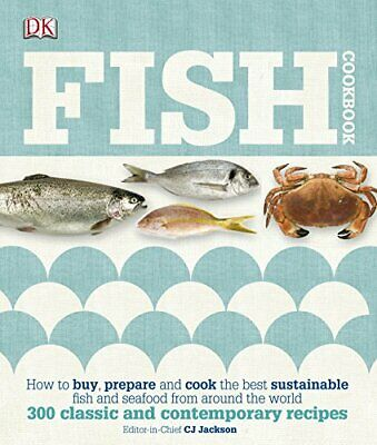 Fish Cookbook by DK Hardback Book The Cheap Fast Free Post