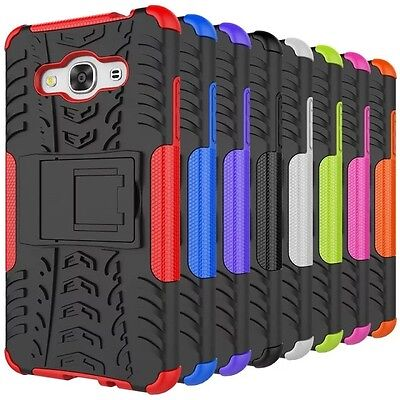 10pcs/lot Hybrid Kickstand Protective Cover Combo Case for Samsung Galaxy J3 PRO