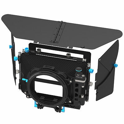 FOTGA DP500III Matte Box Swing-away Sunshade Filter Tray for 15mm Rig DSLR Rod