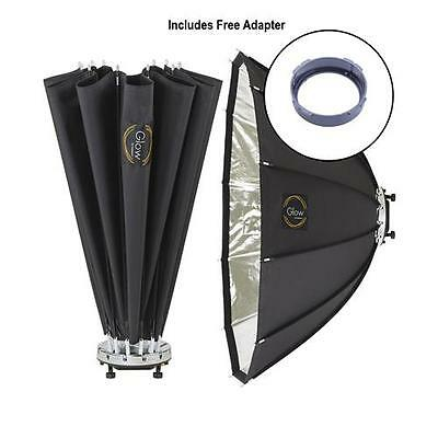 "Glow ParaPop 38"" Portable Softbox for Flashpoint Mount Light #GL-SBSM38PP-FP"