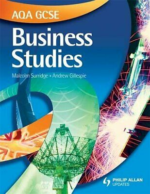 AQA GCSE Business Studies: Textbook by Gillespie, Andrew Mixed media product The