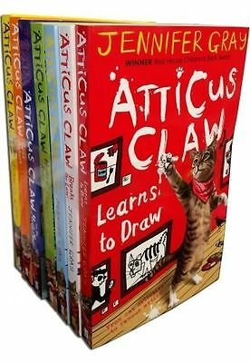 Atticus Claw Worlds Greatest Cat Detective Collection 7 Books Set