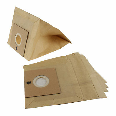 Bush BC-402, BC-501 Vacuum Cleaner Hoover Paper Dust Bags Pack Of 5