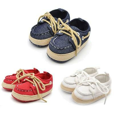 EFLE Soft Sole Crib Shoes Infant Toddler Baby Boy Girl Sneaker 0-12 Months