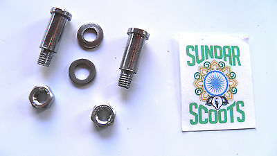 Oversized 6 Piece Stainless Steel Brake & Clutch Lever Bolts Lambretta Scooters