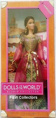 Barbie Doll Collector - Morocco Dolls Of World New