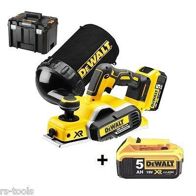 DeWALT DCP580P2 18V LiIon Akku Hobel 82mm bürstenlos brushless optional DCP580NT