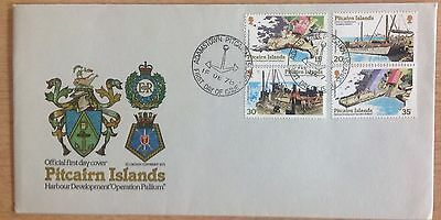 Pitcairn Islands Fdc 1978 Harbours