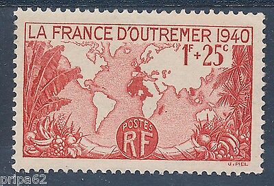 Cl - Timbre De France N° 453 Neuf Luxe **