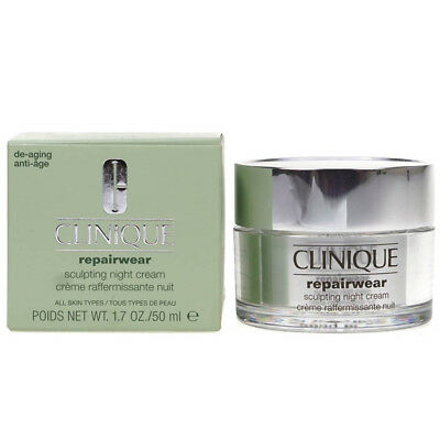 Clinique Repairwear Sculpting Night Cream 50ml Anti Age Moisturiser Damaged Box