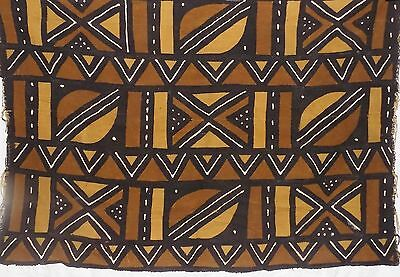African mud cloth bogolan bambara bogolanfini new Africa bamana fabric t801