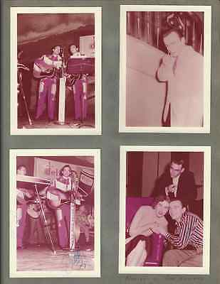 Wilburn Brothers Scrapbook 50 Pages/130 Photos+Costume Piece+More Grand Ole Opry