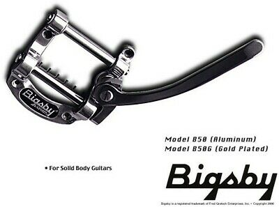 NEW - Licensed Bigsby B50 Vibrato Tailpiece, POLISHED ALUMINUM
