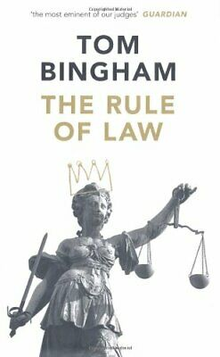 The Rule of Law by Bingham, Tom Hardback Book The Cheap Fast Free Post