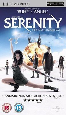 Serenity [UMD Mini for PSP] [2005] - DVD  MWVG The Cheap Fast Free Post