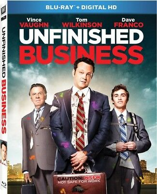 Unfinished Business [New Blu-ray] Digitally Mastered In Hd, Dolby, Digital The