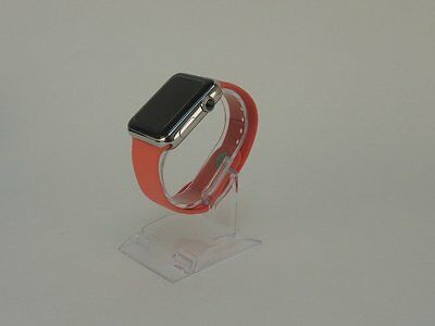 Pink Apple Watch 42mm Replacement Silicone Wrist Bracelet Sport Band Strap