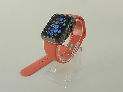 Pink Sports Band Silicon Replacement Strap For Apple Watch 42MM