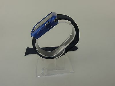 Blue Sports Band Silicon Replacement Strap For Apple Watch 42MM