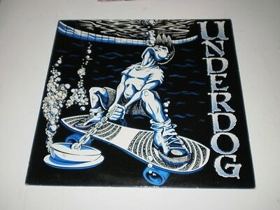 Underdog - The Demons - Lp Made In Switzerland 1993 - Far Out Records - Hardcore