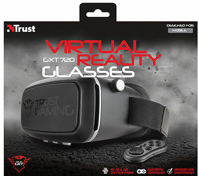 New Trust 21322 Gxt720 Virtual Reality Glasses Complete With Remote Control
