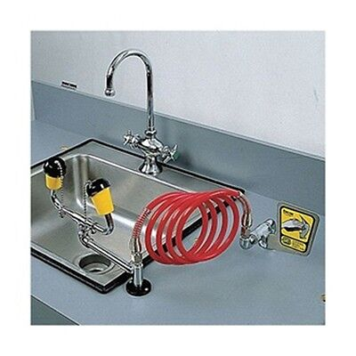 Encon 01045614 Counter Mount Emergency Eyewash Station With Drench Hose New