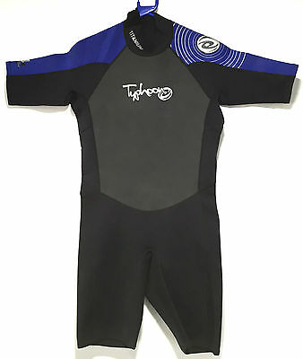 Typhoon Pulse Mens Shorty Wetsuit 2.5mm Diving Snorkeling Surfing Warm Water