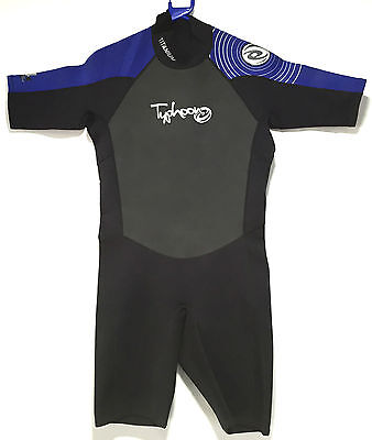 Typhoon Pulse Mens Shorty Wetsuit 2.5mm Diving Snorkelling Surfing Warm Water