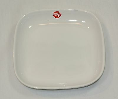 CONTINENTAL AIRLINES Ceramic Plate Dish Made by HALL CHINA