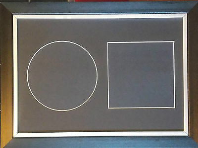 CD And Cover Pre Cut Display Memorabilia Mountboard To Fit Standard A4 Frame 003