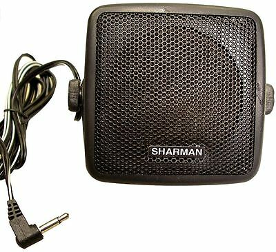 SHARMAN EXTENSION SPEAKER FOR HAM RADIO CB for yaesu icom kenwood alinco