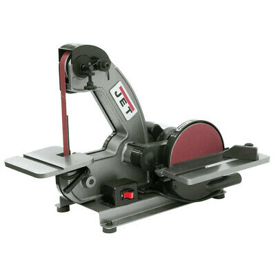 Jet 577003 J-4002 Cast Iron 1 x 42 in. Bench Belt and 8 in. Disc Sander New