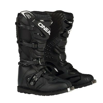 Oneal Rider Boots Offroad Motocross Black Mens All Sizes
