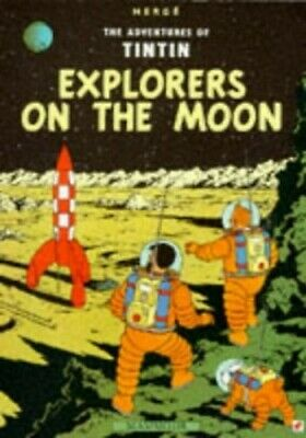 Explorers on the Moon (The Adventures of Tintin) by Herge Paperback Book The