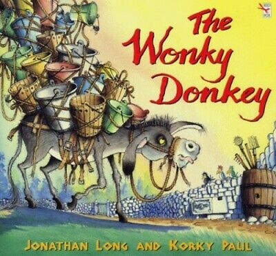 The Wonky Donkey by Long, Jonathan Paperback Book The Cheap Fast Free Post