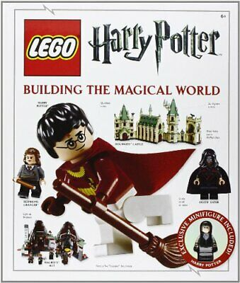 LEGO Harry Potter Building the Magical World by DK Hardback Book The Cheap Fast