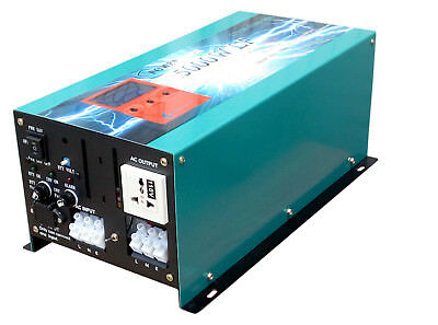 5000W LF PURE SINE WAVE POWER INVERTER DC12V to AC 240V/Battery Charger