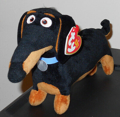 Ty Beanie Baby - BUDDY (The Secret Life of Pets Movie) Dog ~NEW for 2016 IN HAND