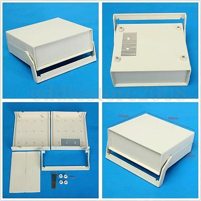 200x175x70mm Plastic Electronic Enclosure Project PCB Box Case Desk Shell Cover