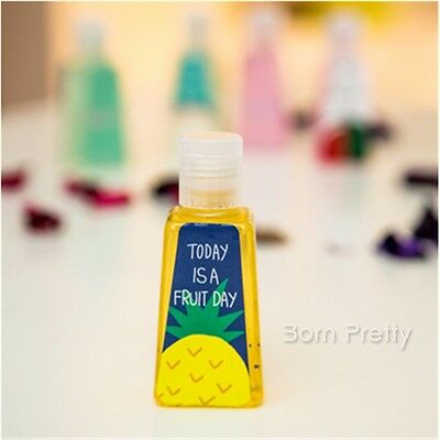 1Pc 30ml Cute Por Hand Sanitizers Gel Protective Barrier Random Pattern