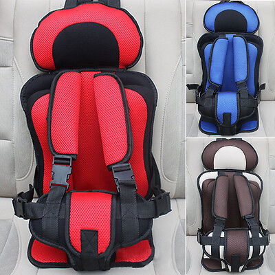 Portable Kids Baby Car Protective Safety Secure Seat Carrier Chair Cushion New