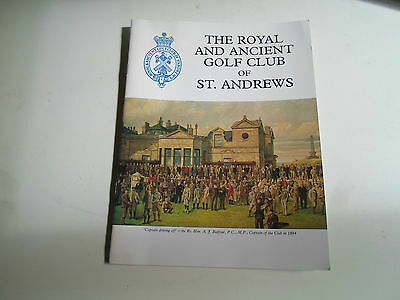 The Royal And Ancient Golf Club Of St Andrews + Illustrated 1984 Pilgrim Press