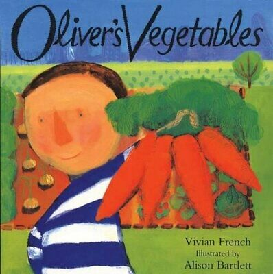 Oliver's Vegetables, French, Vivian Paperback Book The Cheap Fast Free Post