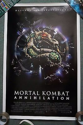 Mortal Kombat : Annihilation US Single sheet movie poster 27 x 41 inches