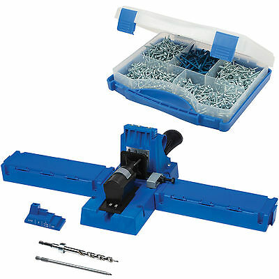 Kreg K5 Pocket Hole Jig Joinery Kit with 675 Screws Woodwork Joint Carpentry