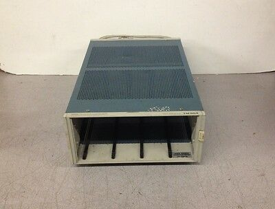 Tektronix TM504 Power Mainframe Chassis Hole In Bottom Of Unit